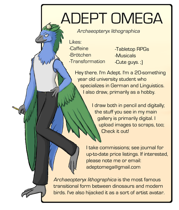 AdeptOmega's Profile Picture
