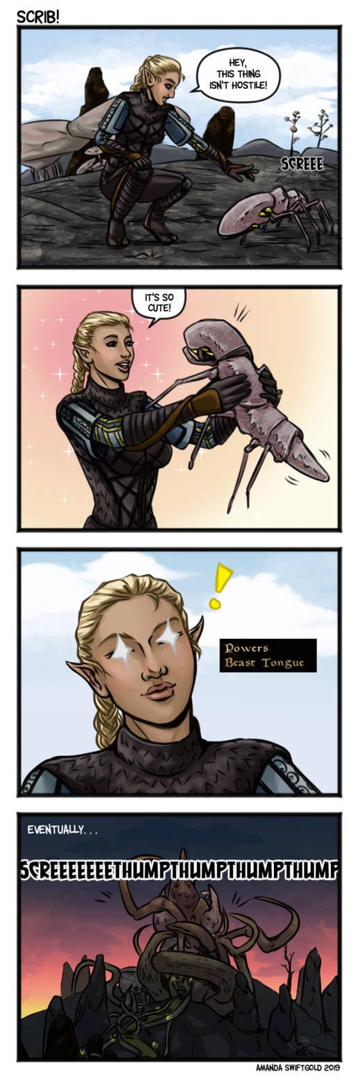 Morrowind: Scrib!