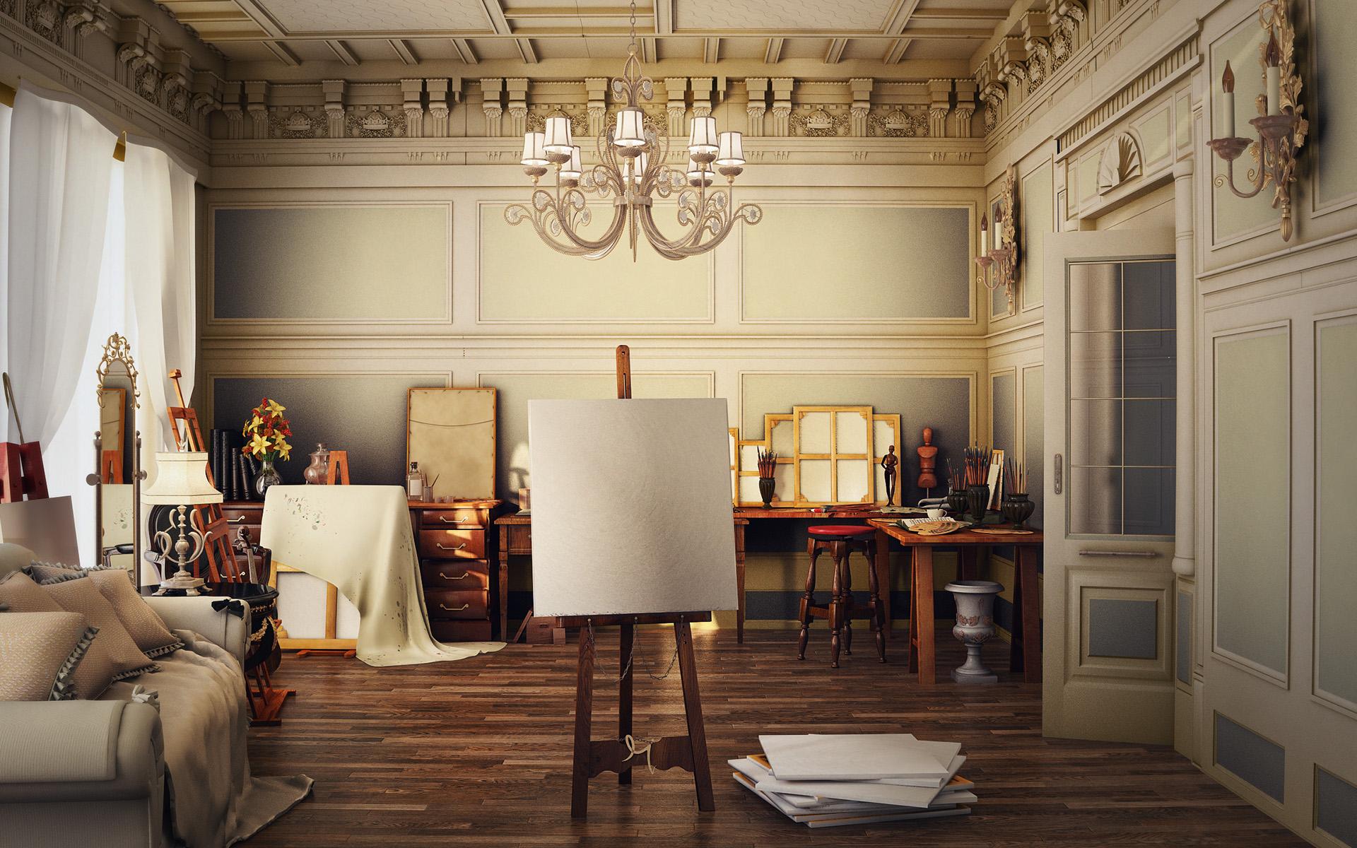 Art Studio Viewing Gallery