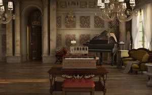Music Room by sanfranguy