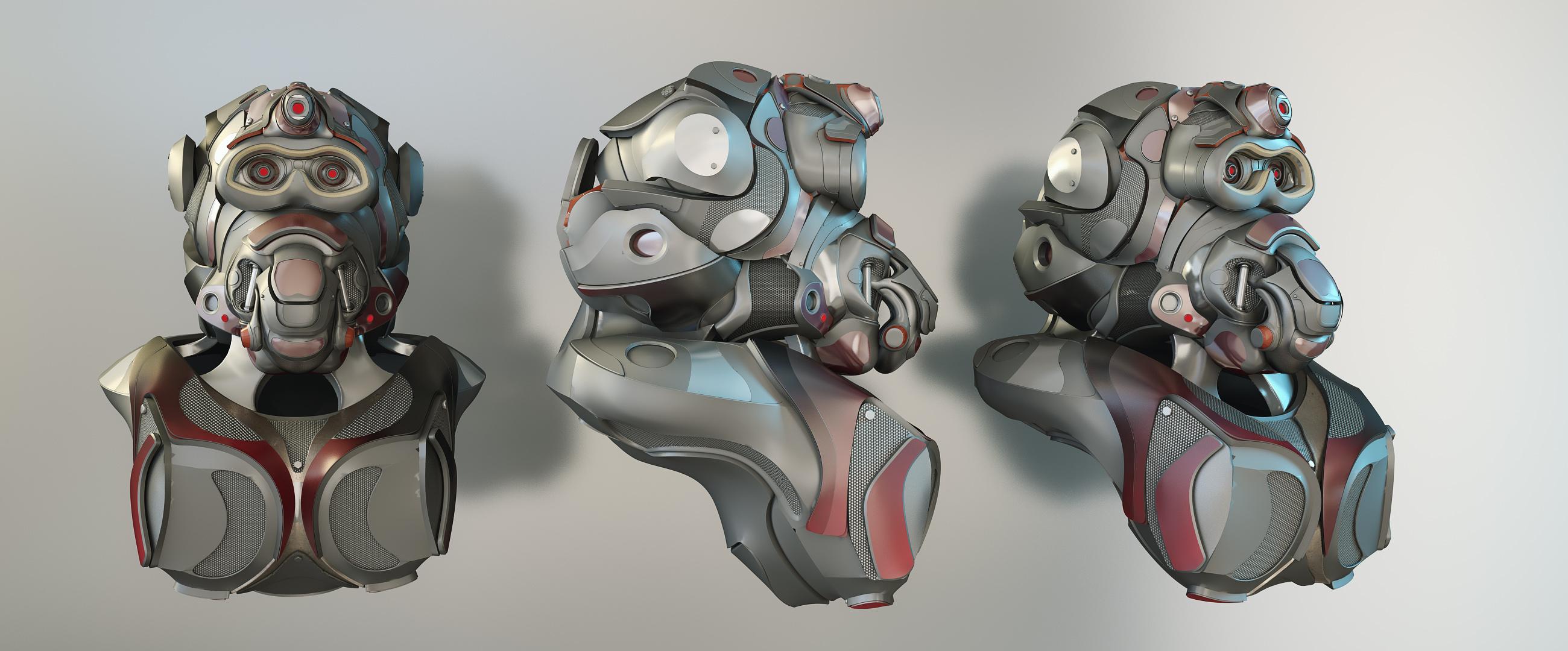 Monkey Armor by sanfranguy