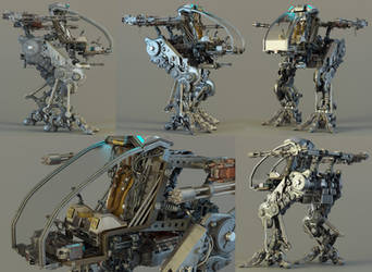 Mech Prototype - Exposed by sanfranguy