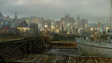 Dock by sanfranguy