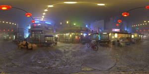 Oriental market Stereo VR