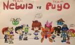 Puyo Puyo Medarot Robottle 2 on 2 by RegularMarioGalaxy12