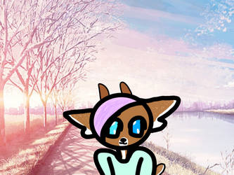kawaii deer girl  by lolitalover666