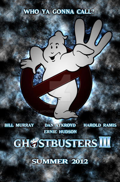 Ghostbusters 3 Poster by MartynTranter