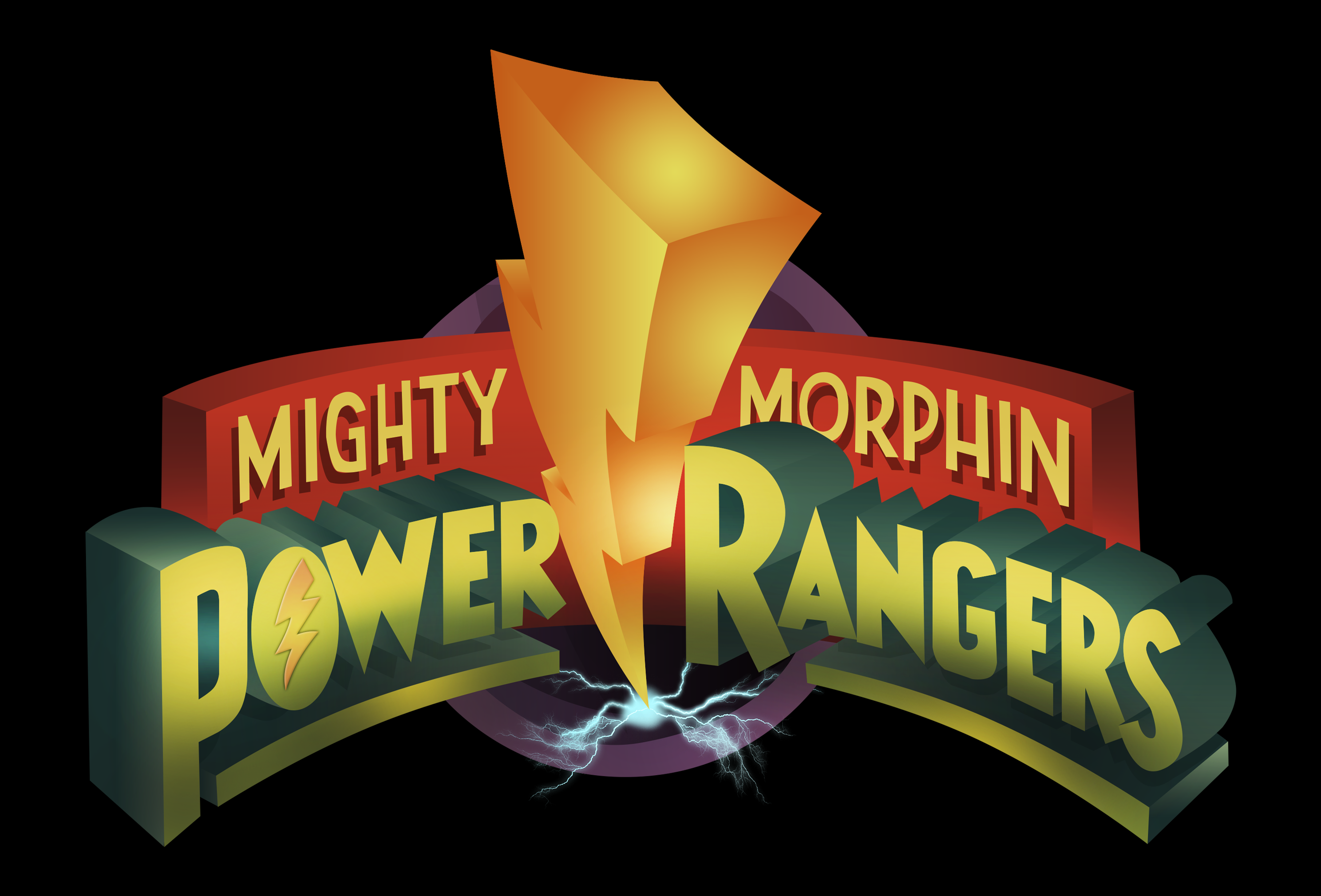 Mighty Morphn Power Rangers Logo HD! by MartynTranter on ...