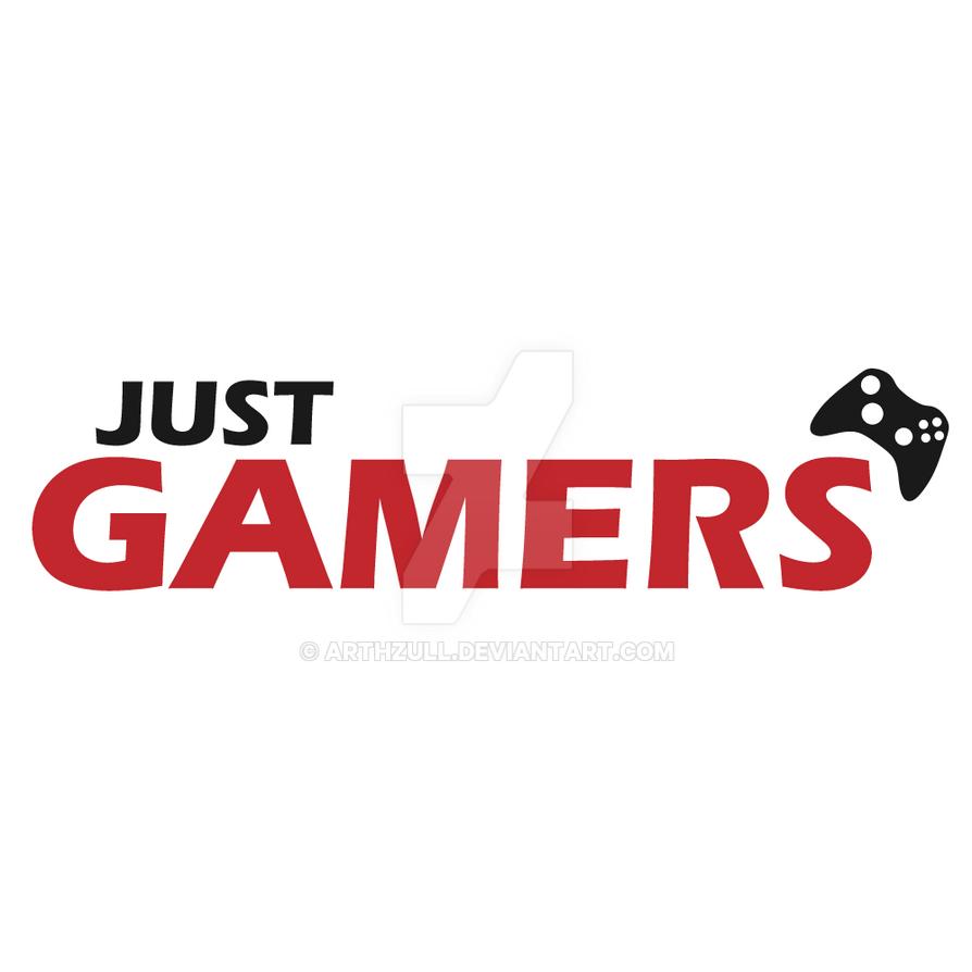 Just gamers logo by martyntranter on deviantart