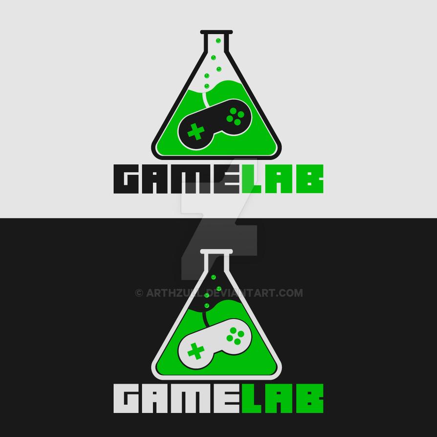 GameLab Logo by MartynTranter