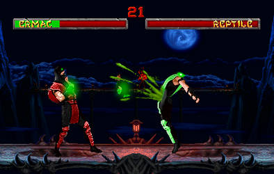 Ermac Head Out Fatality Klassic by IceColdWarrior