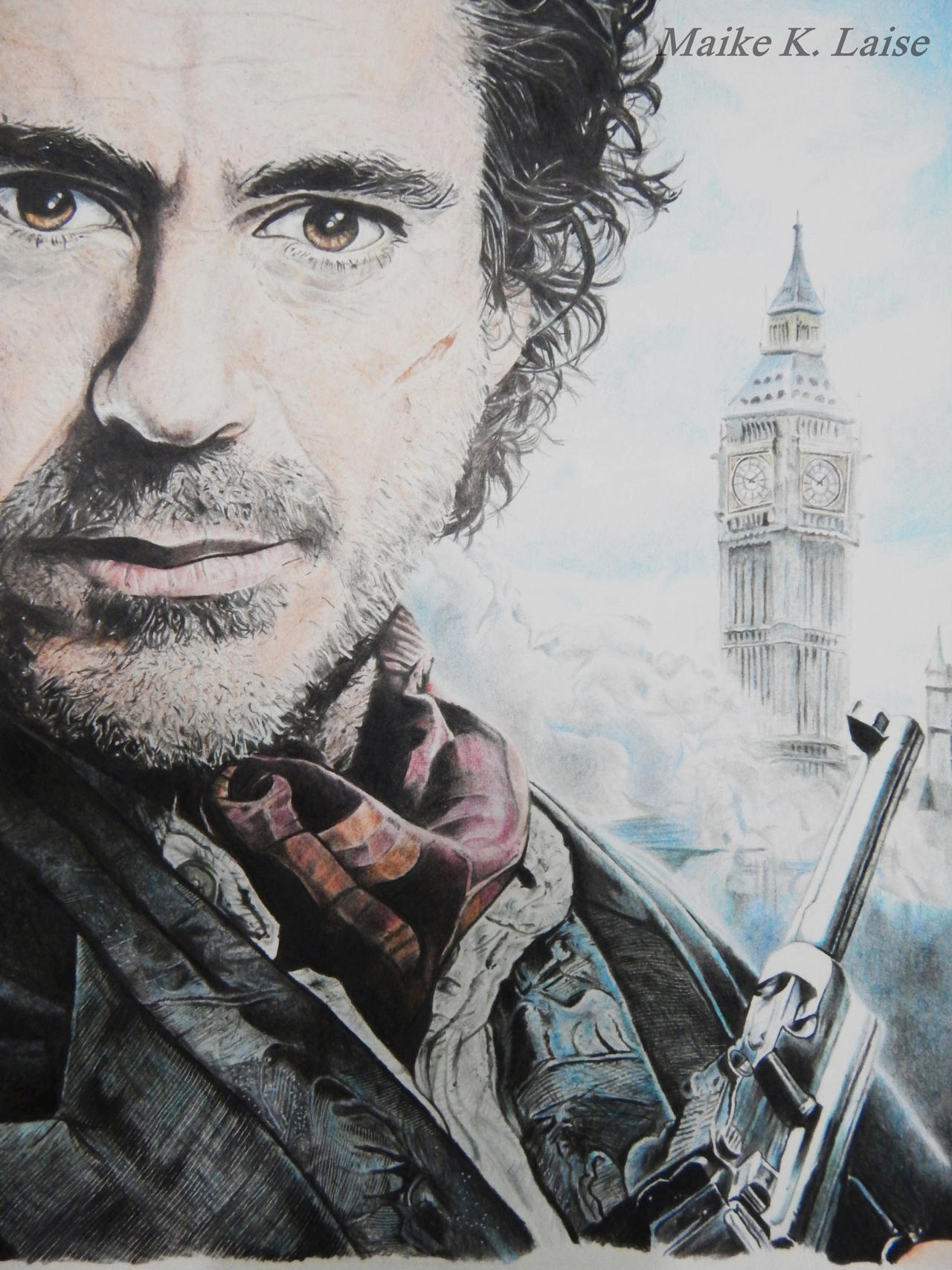 Sherlock Holmes A Game of Shadows by MaikeLaise