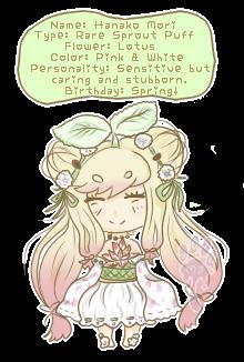 Hanako!: Sproutling MYO event by Milkiepaws