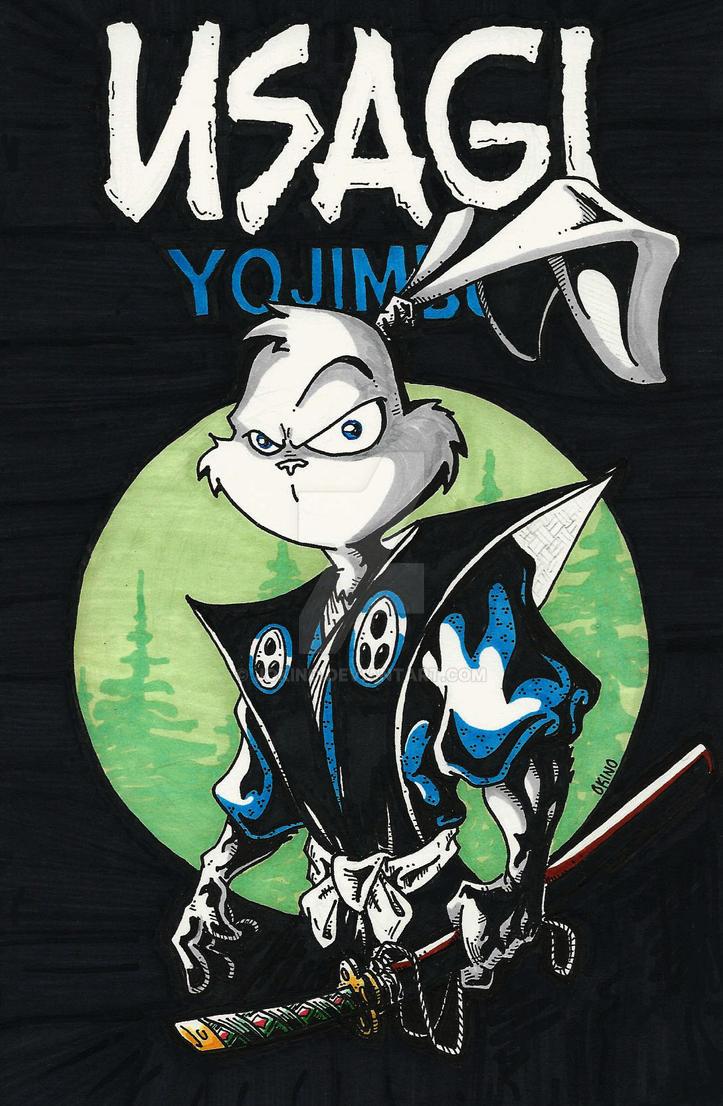 Usagi Yojimbo by jokino