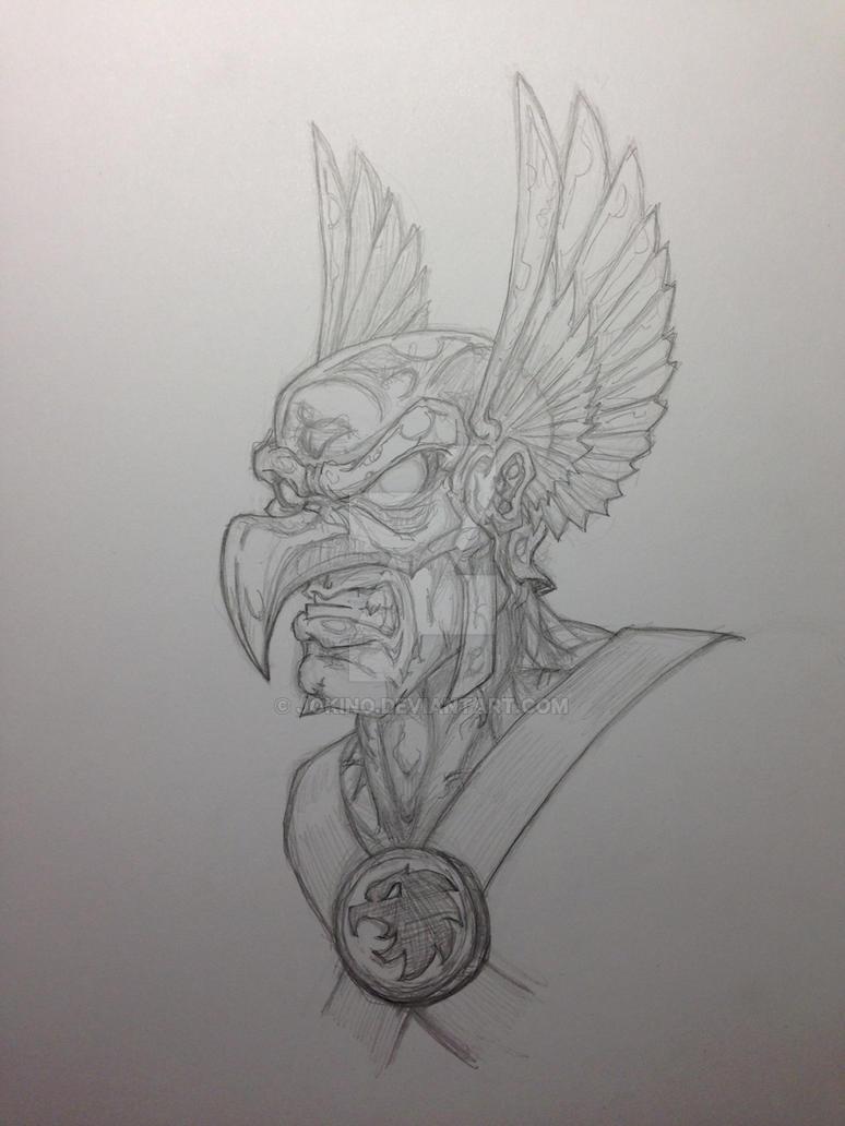 Hawkman by jokino