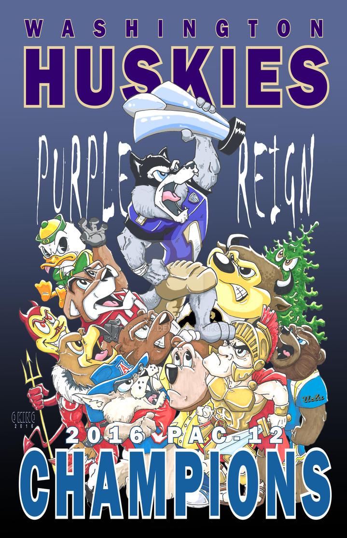 Go Huskies by jokino
