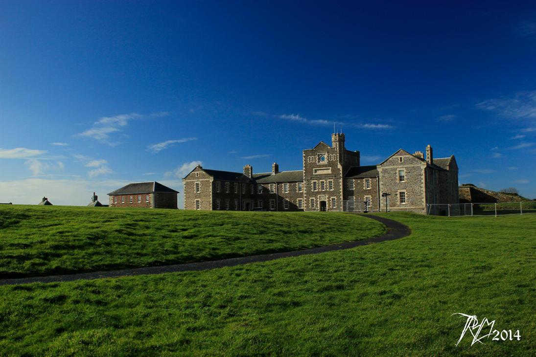 Pendennis Castle by SpiralNoose