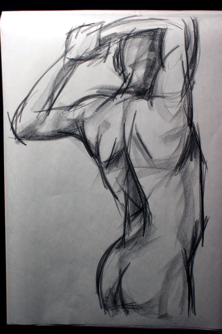 Life Drawing- male model by DesendentofDarkness on DeviantArt