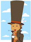 Professor Layton and his Unrealisticly Tall Hat