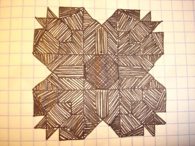 simple graph paper drawings