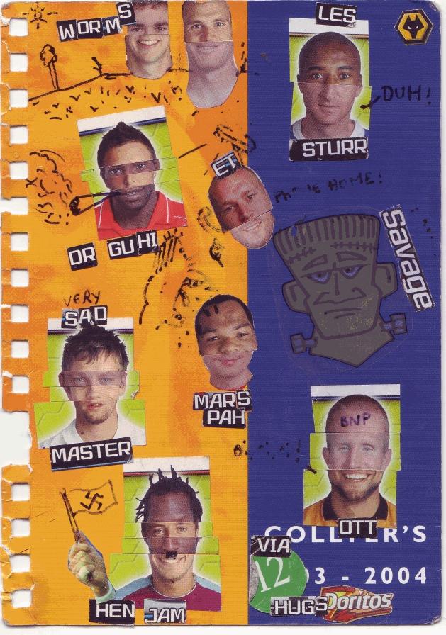 Football Sticker Freakshow by zapdude