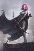 Realistic Archer by CedricYiu