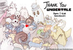 With you I am okay (Undertale 1 year Anniversary)