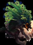 Feather fall by Kreftropod