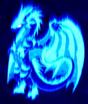Dragon Blue Fire