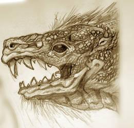 Sketchbook Dump: Gnar by RougeSpark