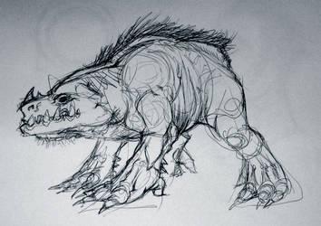 Sketchbook Dump: Smiley by RougeSpark