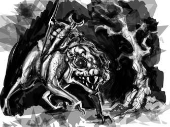 Nightrunner Concept Sketch by RougeSpark