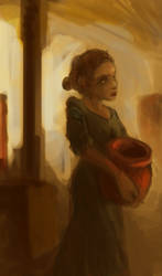 25 minute speedpaint - Jar Bearer by RougeSpark