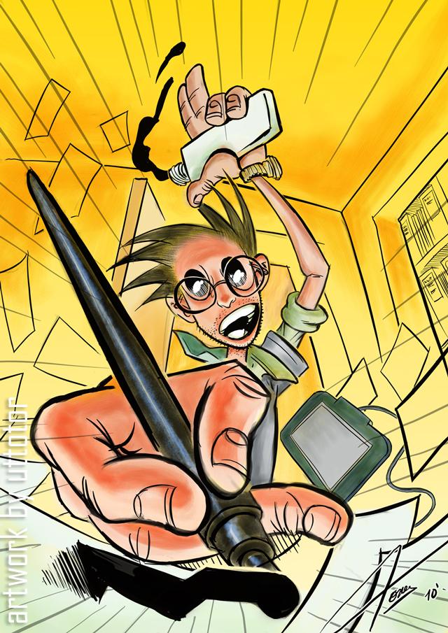 Dia del Dibujante by UTTOTOR on deviantART