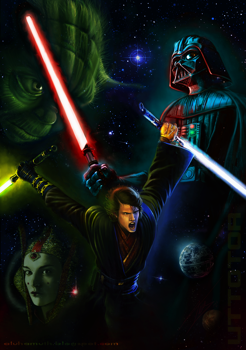 Anakin by UTTOTOR