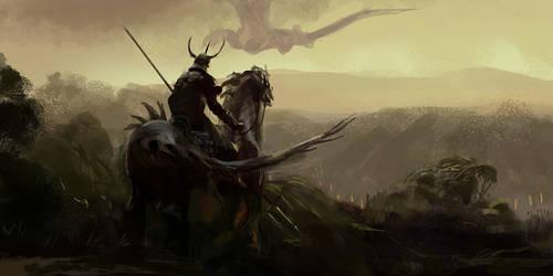 Dragon Knight by fish-walker