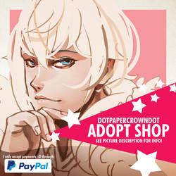 Dotpapercrowndot adopt shop