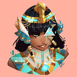 [Com by Massive Scar Era] Futuristic Egyptian God