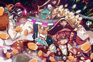 [OC] Blood Crown Space Pirates