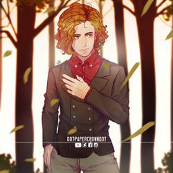 [Commission by Luke] Man in the woods