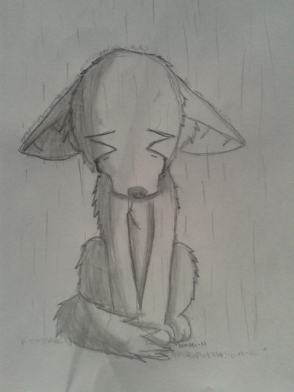 I love drawing sad stuff! Deal with it! by NooDot on ...