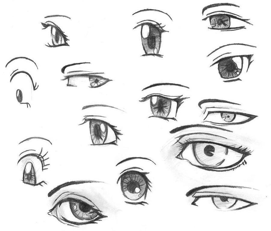 Eyes practice by tsukiakariko