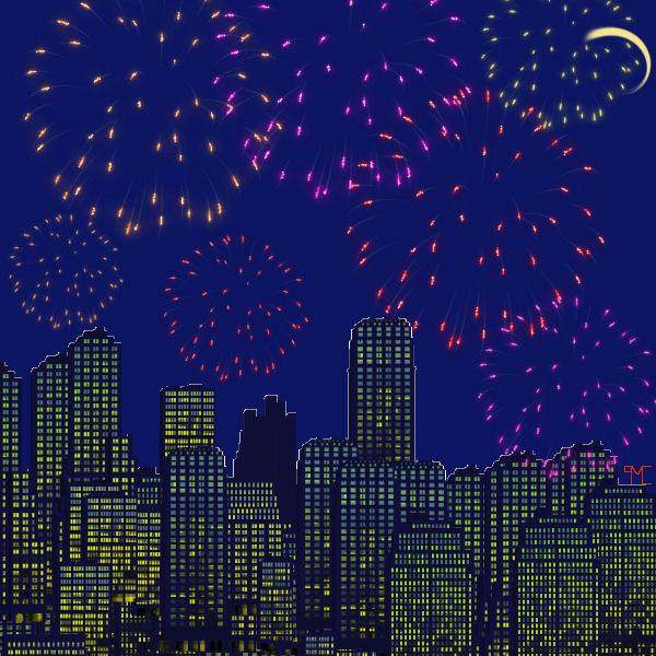 Fireworks by Nexusenigma