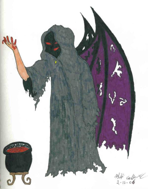 Demon and Culdron by Nexusenigma