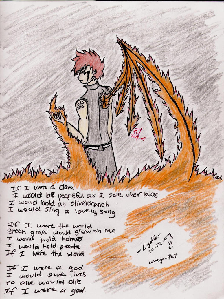 Flames around it's God by Nexusenigma