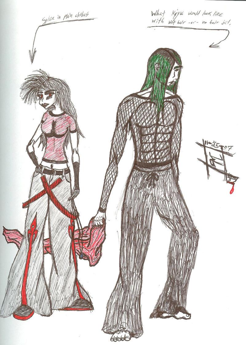 Kiyu and Sylvia Edits by Nexusenigma