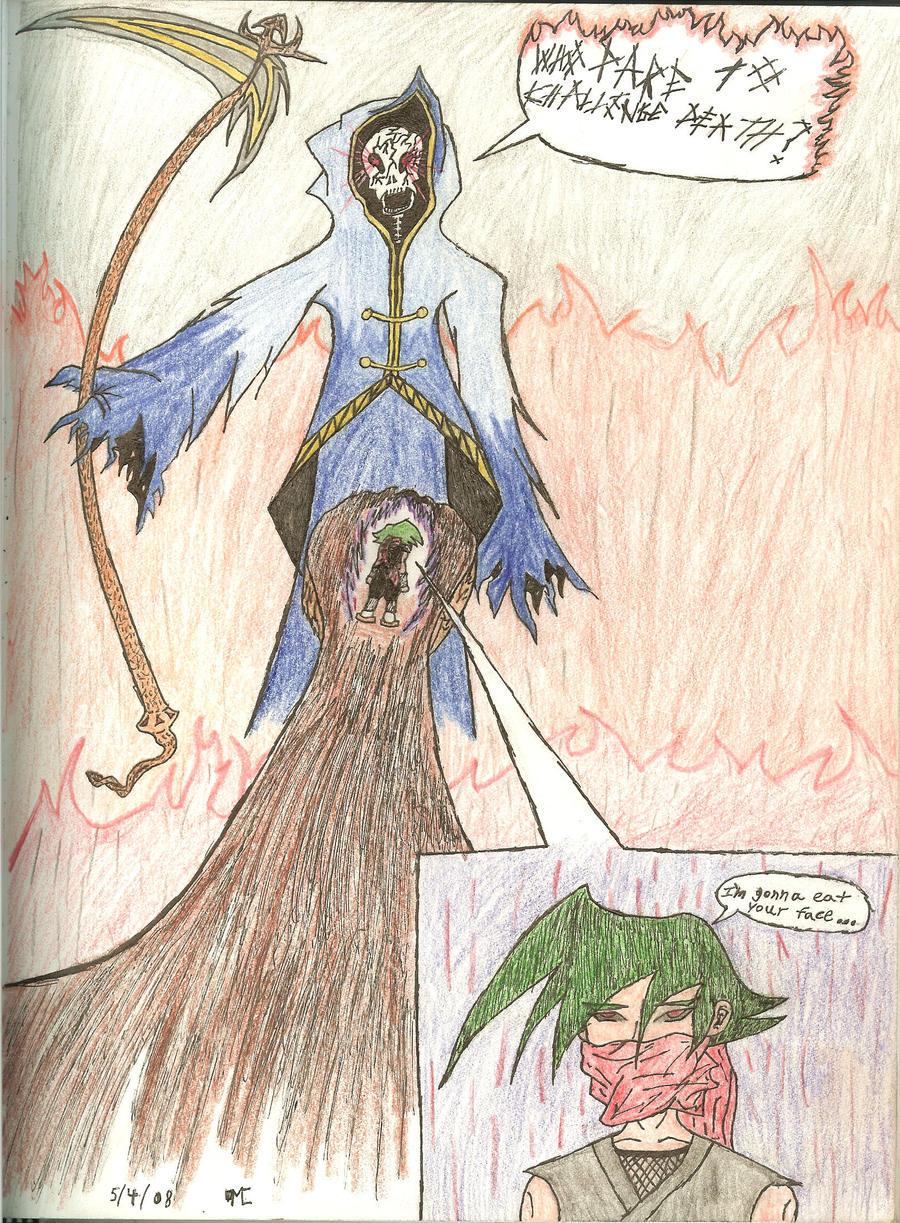 The battle for you soul: Kiyu by Nexusenigma