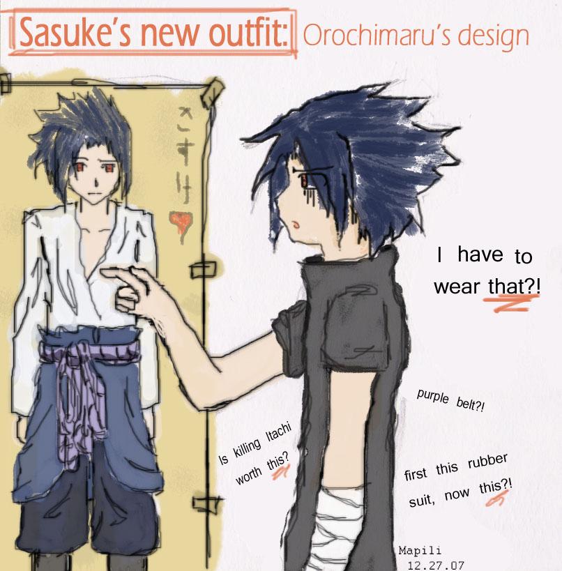 Sasuke's new outfit by pa-kun on deviantART