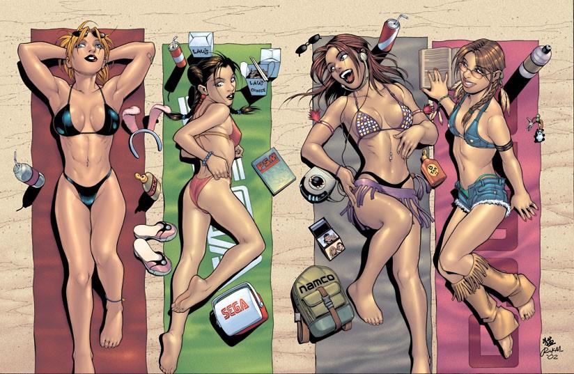 Girls of Tekken-Virtua Fighter