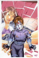 Kabuki Scarab 8 cover by RickMays